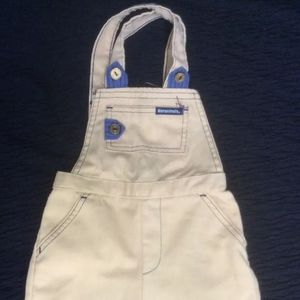 Vintage Overall By Garanimals Camel Color With Blu